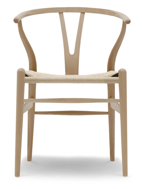 Carl Hansen ch 30p stoler, såpe eik og skinn C