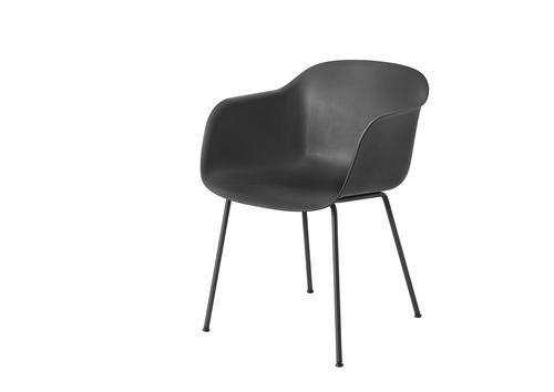 hvit loungestol i stål