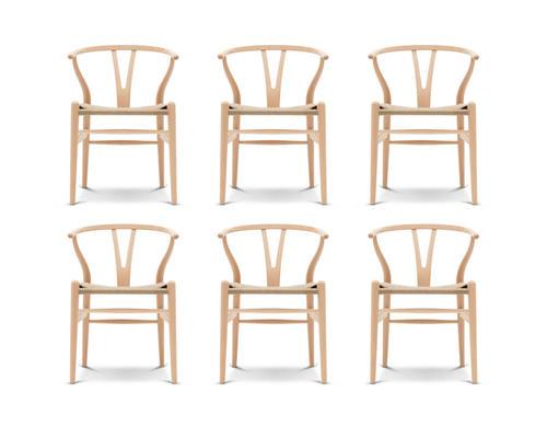 6 spisestoler selges (Y stol) | FINN.no